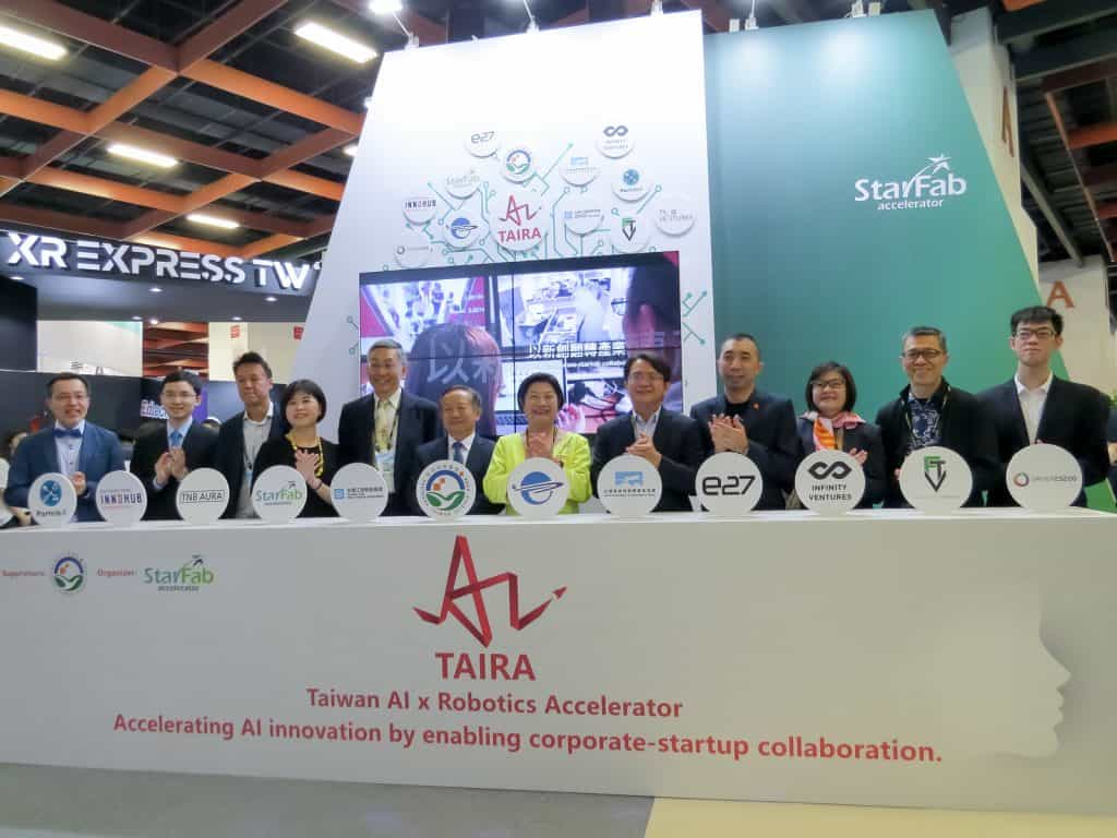 TAIRA 2019 sets the stage for global AI startups to expand in Southern Taiwan