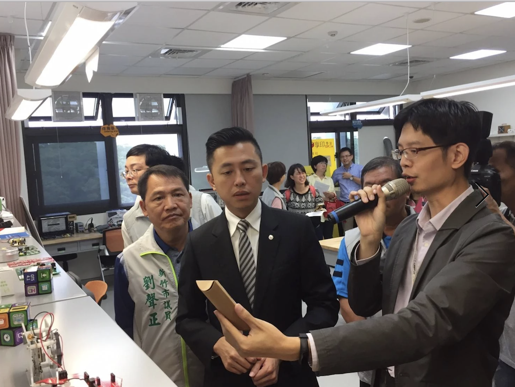 Visit From the Mayor of Hsinchu City
